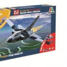 1459.Macheta kit avion - Tornado IDS Black Panters + Puzzle scara 1:100 - Macheta Aeromodel