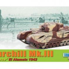 1464.Macheta tanc Churchill Mk. III - Alamein - 1942 DRAGON ARMOR scara 1:72 - Macheta auto