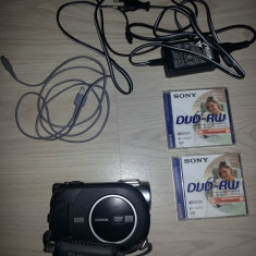 Camera video Sony Dcr-Dvd 106, Mini DV, 30-40x