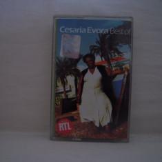 Vand caseta audio Cesaria Evora-Best Of, originala - Muzica Pop ariola, Casete audio