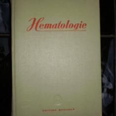 Hematologie - Prof. C. T. Nicolau