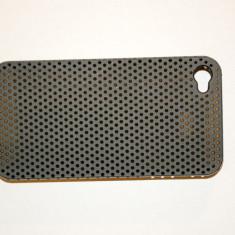 Husa spate iPhone 4 / 4S. - Husa Telefon Apple, Negru, Plastic, Carcasa