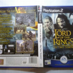 The lord of the rings The two towers - JOC PS2 Playstation ( GameLand ) - Jocuri PS2, Actiune, 16+, Single player