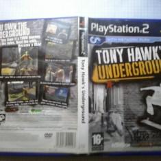Tony Hawk's Underground - PS2 Playstation [B] - Jocuri PS2, Sporturi, 16+, MMO