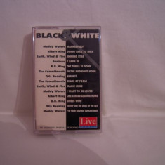 Vand caseta audio Black&White, originala, rara! - Muzica Pop sony music, Casete audio