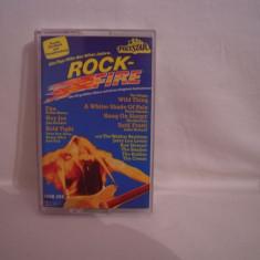 Vand caseta audio Rock Fire,originala,rara!