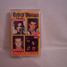 Vand caseta audio Gypsy Woman, originala, rara! - Muzica Pop virgin records, Casete audio