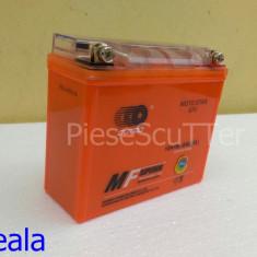 Baterie / acumulator Moto Scuter / ATV 12v ( volti ) 7A ( amperi ) 12 v 7 A ( GEL ) ( L-14.5 / l-5.8 / H-13 ) - Baterie Moto