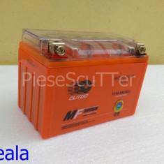 Baterie - acumulator Moto Scuter 12v ( volti ) 9A ( amperi ) 12 v 9 A ( GEL ) - Baterie Moto