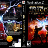 Joc original Star Wars Episode 3 pentru consola Sony Playstation 2 PS2