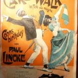 Paritura veche- Walk - Sarbatoarea Negrilor de Paul Lincke