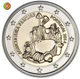 PORTUGALIA 2 euro comemorativa 2014 CC - agricultura, UNC