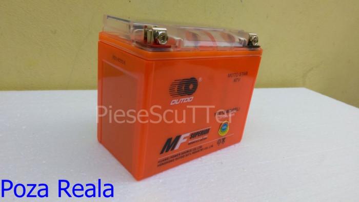 Baterie - Acumulator Moto Scuter - ATV 12v - 12A ( amperi ) 12 v 12 A GEL foto mare