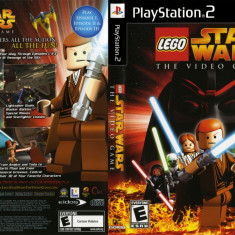 Joc original Lego Star Wars VideoGame pentru consola Sony Playstation 2 PS2 - Jocuri PS2 Eidos, Arcade, Toate varstele, Multiplayer