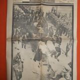 ZIARUL ROMANIA * DIRECTOR CEZAR PETRESCU - ANUL II,NR.447 - SEPT. 1939 * FUNERALIILE NATIONALE PENTRU FOSTUL PRESEDINTE DE CONSILIU ARMAND CALINESCU