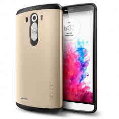 HUSA Slim Armor LG G3 BONUS FOLIE ECRAN - Husa Telefon LG, Auriu