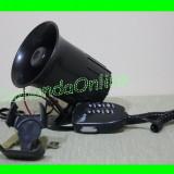 OFERTA Sirena Politie 6 Melodii + Microfon + Volum Numai 79 lei -----PROMOTIE ------- CRR-IT SPECIFIC MILITIE ;)---- CADOU ODORIZANT STICLUTA ----