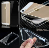 Husa iPhone 4 4S TPU Ultra Thin 0.3mm Transparenta, iPhone 4/4S, Transparent, Gel TPU