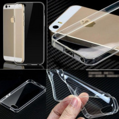 Husa iPhone 4 4S TPU Ultra Thin 0.3mm Transparenta - Husa Telefon, Gel TPU, Fara snur, Carcasa