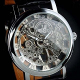 CEAS SUPERB WINNER MECANIC SKELETON BARBATI |CALITATE GARANTATA|AURIU, ARGINTIU, Casual, Mecanic-Manual, Carbon