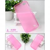 Husa ALLVIEW V1 Viper TPU Transparenta Pink, Roz, Gel TPU, Carcasa