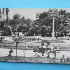 HOPCT 6264 BACAU -VEDERE DIN PARC - BC - RPR [ CIRCULATA ] - Carte Postala Moldova dupa 1918