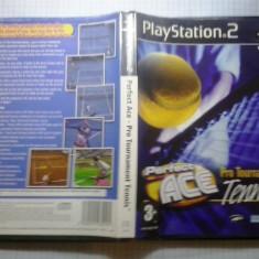 Perfect ace - Pro tournament tennis - JOC PS2 ( GameLand ) - Jocuri PS2, Sporturi, 3+, Multiplayer