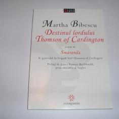 Destinul Lordului Thomson of Cardington Martha Bibescu,rf3/3