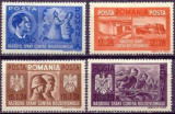 Romania 1941 - FRATIA DE ARME ROMANO-GERMANA, SERIE MNH, N18, Nestampilat