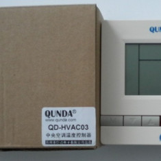 Termostat pentru aer conditionat Quanda model QD-HVAC03, cod:QD-HVAC03 - Termostat ambient, Digital