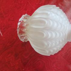ABAJUR-sticla, vintage - Vaza sticla