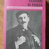 Versuri Si Proza - Ion Minulescu ,521672