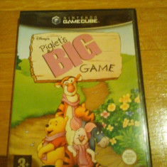 JOC GAMECUBE DISNEY's PIGLET's BIG GAME ORIGINAL / STOC REAL in Bucuresti / by DARK WADDER, Actiune, 3+, Single player