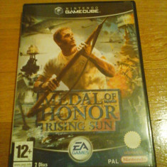 JOC GAMECUBE MEDAL OF HONOR RISING SUN ORIGINAL / STOC REAL in Bucuresti / by DARK WADDER Ea Games, Shooting, 12+, Multiplayer