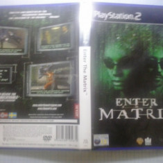 Enter the Matrix - JOC PS2 Playstation ( GameLand - sute de jocuri ) - Jocuri PS2, Actiune, 16+, Single player