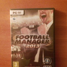 Football Manager 2013 Original - Jocuri PC Sega, Simulatoare, 3+