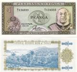 TONGA 1 pa'anga ND 1992-95 UNC!!!