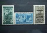 Romania 1934 - MUNCA NOASTRA ROMANEASCA, serie nestampilata, N13/B23