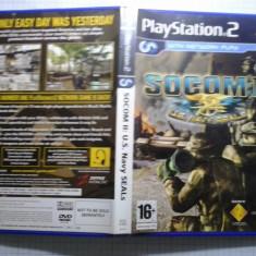 SOCOM II - JOC PS2 Playstation ( GameLand ) - Jocuri PS2, Shooting, 16+, Single player