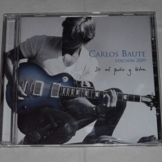 Vand cd CARLOS BAUTE-De mi puno y letra - Muzica Latino warner