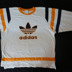 Bluza originala Adidas vintage; marime XXXL, vezi dimensiuni exacte - Bluza barbati Adidas, Culoare: Din imagine