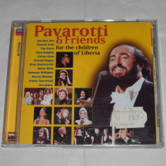 Vand cd PAVAROTTI&FRIENDS-For the children of Liberia - Muzica Clasica decca classics