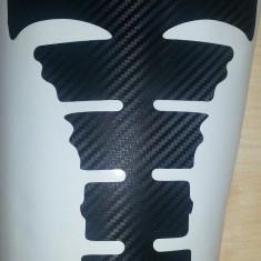 Protectie rezervor moto - Tank Pad Sticker - Carbon 3D - model 1 - Tankpad - Protectie rezervor Moto
