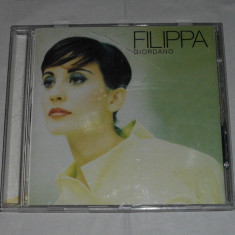 Vand cd FILIPPA GIORDANO-Fillipa Giordano, warner
