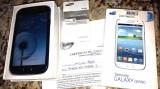 Vand telefon mobil Samsung i9082 Galaxy Grand 8GB, Dual SIM, Blue! Arata si functioneaza impecabil!, Negru, Neblocat