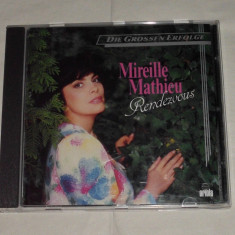 Vand cd MIREILLE MATHIEU-Rendezvous - Muzica Blues ariola