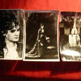 Set 3 Fotografii vechi- Veronica Micle