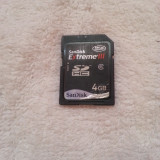 Card memorie SDHC Sandisk Extreme III 4GB