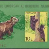 1980 - ANUL EUROPEAN AL OCROTIRII NATURII - COLITA NEDANTELATA URSOAICA MNH