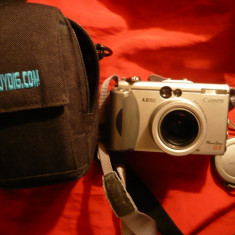 Canon PowerShot G3 4.0 MP Digital Camera - argintiu-de colectie - Aparate foto compacte